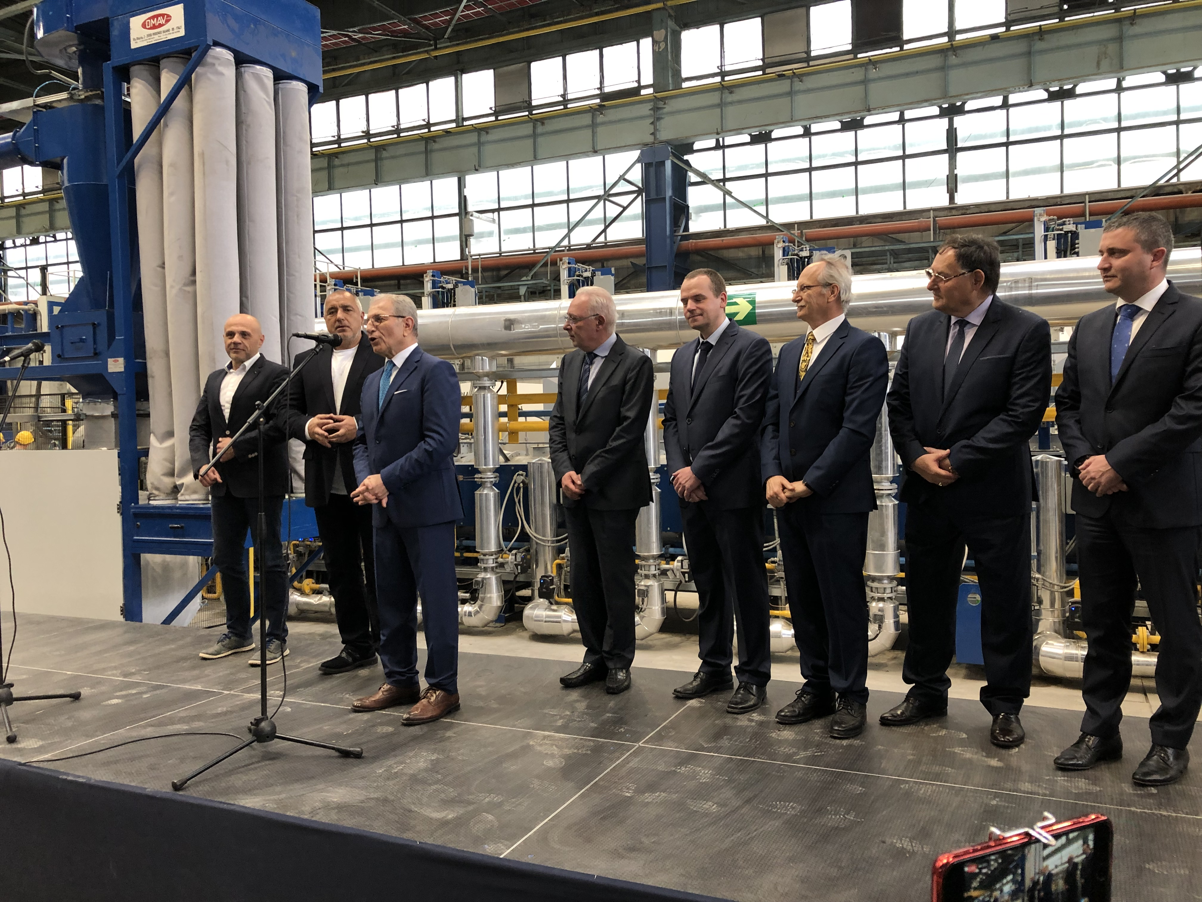 With an official ceremony at Alcomet's production base, a new high